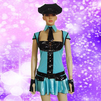 WC-0060 Party Carnival halloween cheap sexy cop women costume for cosplay