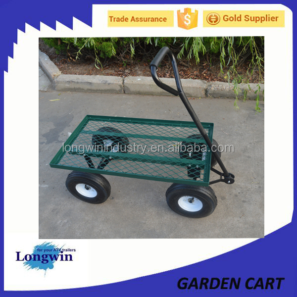 heavy duty Outdoor utility flatbed cart