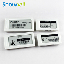 Supermarket lcd electronic e ink color price display tag
