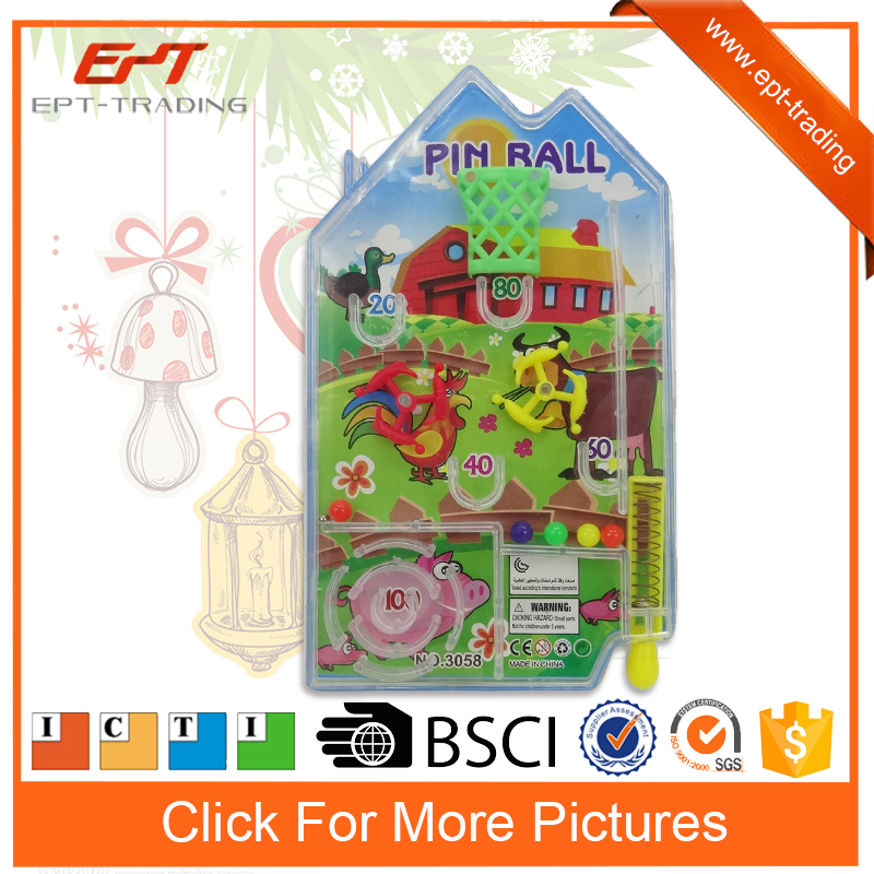Cheap promotion toy mini hoodle game pinball machine for kids
