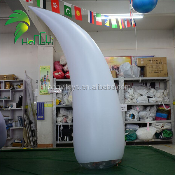 Party Decoration Colorful Lighting Inflatable Cone / Inflatable PVC Lighting Cone / Inflatable Led Cone