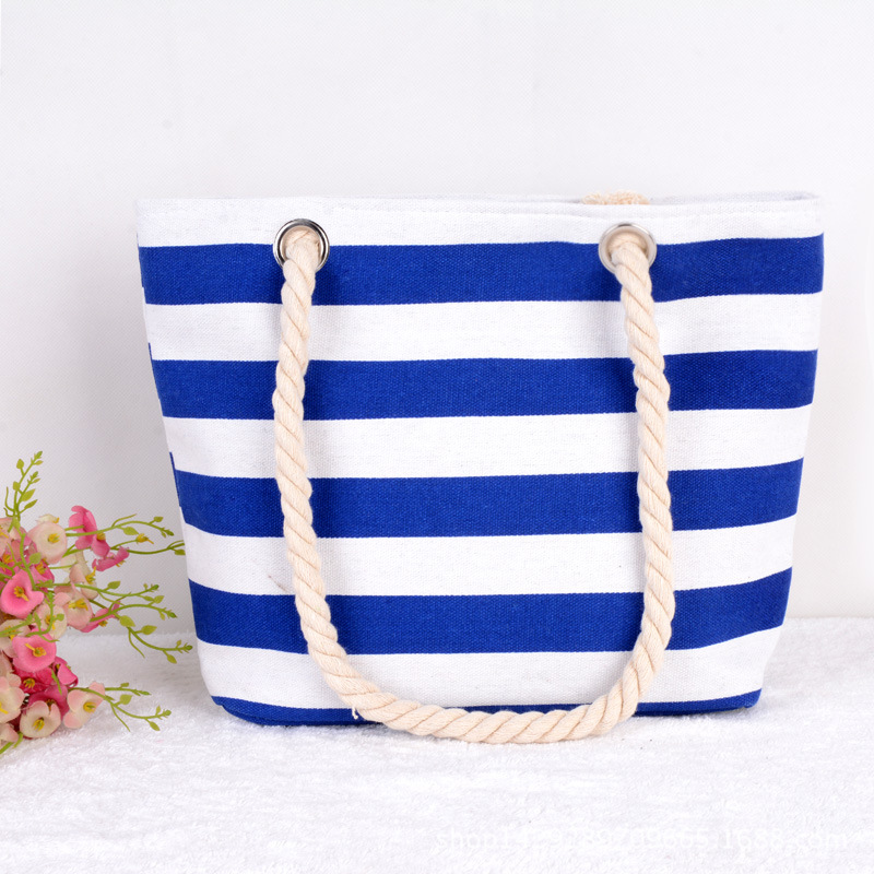 Customized cheap beach tote bag for stock