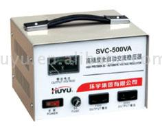 SVC digital display fully automatica AC voltage stabilizer