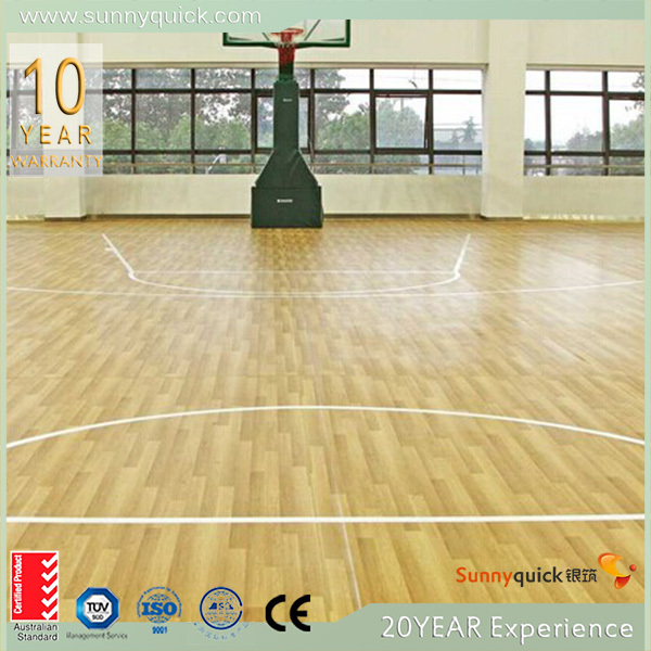 exotic wood floor/ engineered wood flooring/ basket court floor