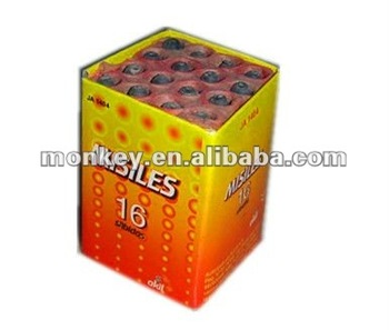 16 shots ground mouse missile fireworks fire works cheap fireworks