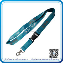Splendid Customer promotional smooth polyester lanyards