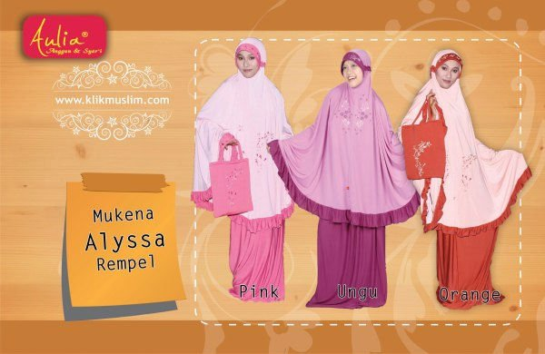 Mukena (praying dress)