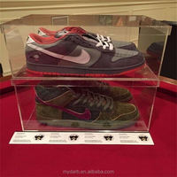 100 Acrylic Costomized Sneaker Shoe Box