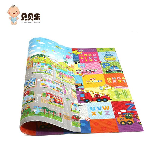 Portable excellent flame-retardant xpe soft foam alphabet mat