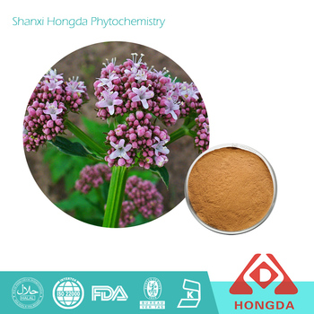 Valerian Root Extract Powder 0.3% 0.8%Valerian Acid CAS 8057-49-6