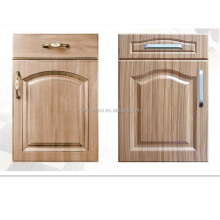 pvc moulded kitchen cabinet door in sub-glossy surface