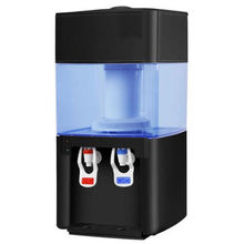 Hot and cold water filter dispenser machine