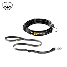 High quality comfortable pet dog collar and leash nylon material dog accessories