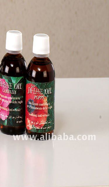 Paraben Free organic oil natural cosmetics Camellia Oil and Poppy Oil - Jaline Line by Exar