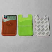 Rubber Silicone Business Card Holder