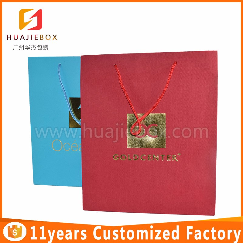 Top Quality custom printing candy fancy recycle shopping kraft gift paper bag