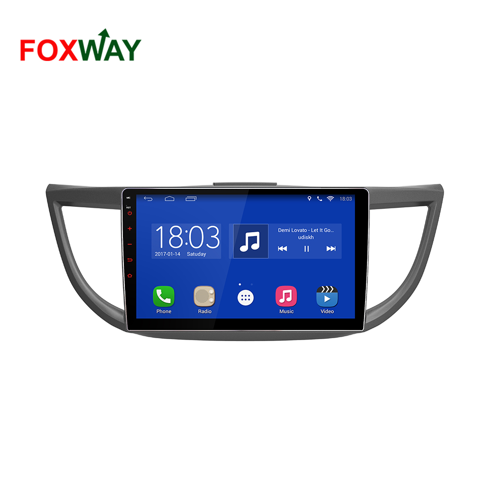 best price Android car radio 1 din for Honda CR-V with OBD