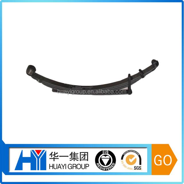 Heavy duty spring steel plate truck leaf spring