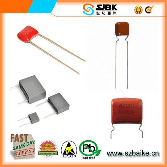 FILM 1UF 50VDC Stacked Metallized Plastic Film Capacitor