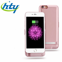 5000mAh Portable Power Bank External Battery Charger Case For iphone 6 Plus & 6S Plus Mobile Cell Phone battery charger case wit