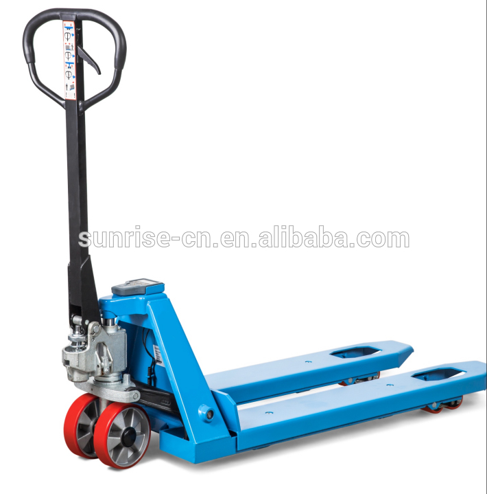 2ton electric pallet truck with scale pallet jack weight scale
