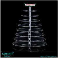 lighted acrylic cake stand cake racks forweeding and party use