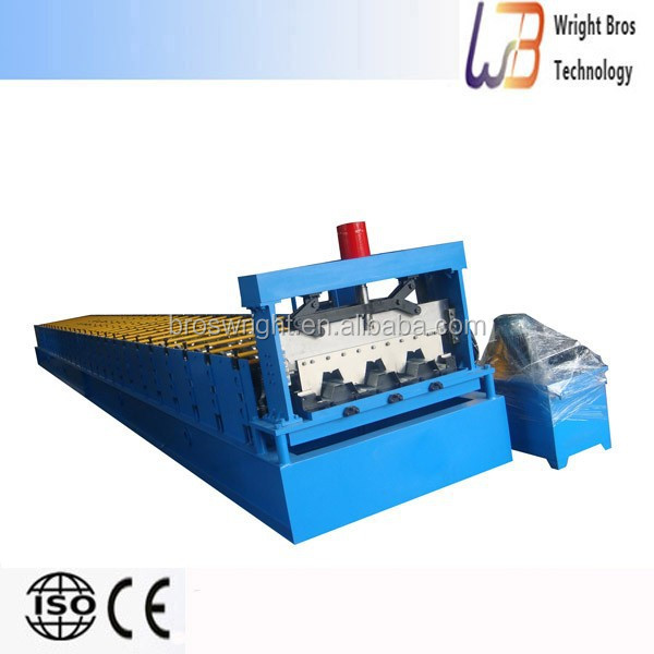New design step tile roll form machine