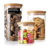 /product-detail/handblown-airtight-clear-glass-nuts-storage-jar-with-wooden-lid-60046769675.html