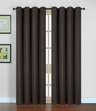 ready made fabric new design 210gsm embossed window blackout curtain