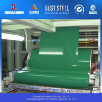 zinc coated steel coil on hot sale