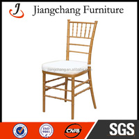 Manufacturer Gold knocked down plastic chair