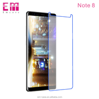Half mirror tempered glass protective film for Galaxy Note 8 adhensive high quality screen protector