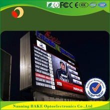 P10 outdoor fixed advertising high definition led display speed limit sign trailer