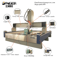 Chinese best manufacturer cnc carving marble granite stone machine SH-2030 for wood,stone,marble,granite...