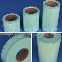 Heat-sealing coiled Sterilization pouch for medical packaging