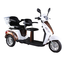 Top Quality passenger tricycle mobility 2 seat electric scooter