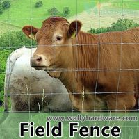 Wally hardware factory Animal Wire Mesh Fence ,Hinge Joint Field Fence ,Cattle Fence