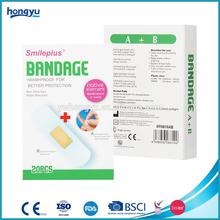 Mixed PU Hydrocolloid Plaster And Alcohol Pad Set for Wound Care