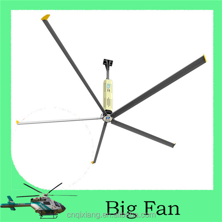 24ft Hvls Industrial Big Ceiling Fan Manufacturers In Guangzhou For Workshop