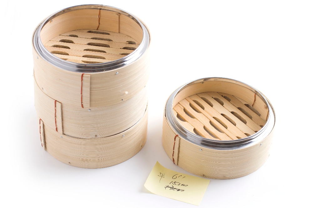 Steam Cooking Tool Bamboo Steamer Basket Dumpling Stuffed Bun Use