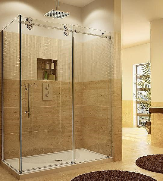 2015 new bathroom design guardian sliding tempered glass for Latest bathroom designs 2015