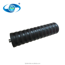 Saving energy and reducing consumption bulk aluminum construction machine impact idler roller