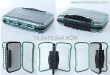 2012 NDS Double side clear lid waterproof super strong fly fishing box