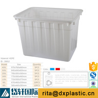 white aquarium tank plastic live fish containers