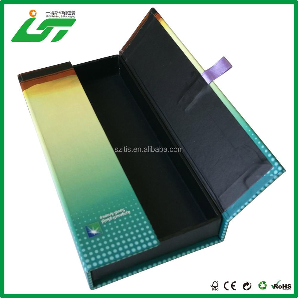 luxury design and wholesale false eyelash packaging box factory from China