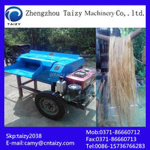 Kenaf skin fiber extracting machine sisal jute fiber decorticator machine