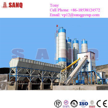 HZS90 90m3/h Ready Mix Concrete Plant