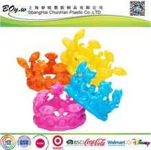 EXW popular kids hat pvc inflatable crown