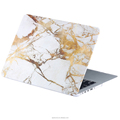 Marble hard pc case for macbook pro, protective cover for macbook 13.3""