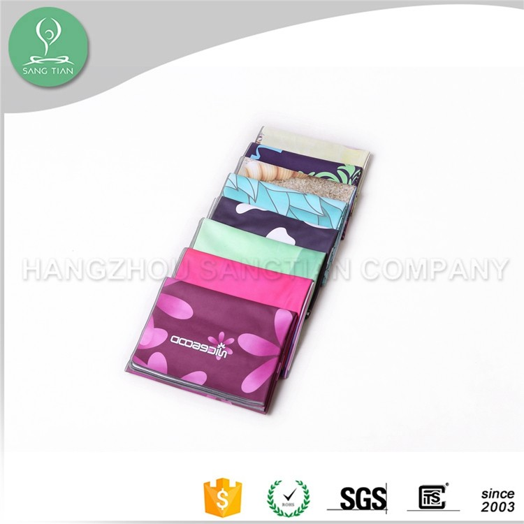 2016 microfibre yoga towel thick, yoga mat towel plush microfiber, yoga towel for pilates can custom